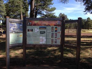 Kiosk Installed at Ft Tuthill County Park