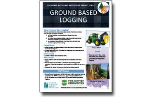 Harvesting Method Fact Sheet – Traditional Ground Based Equipment