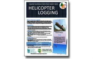 Harvesting Method Fact Sheet-Helicopter Logging