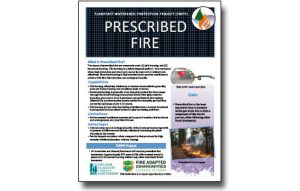 Harvesting Method Fact Sheet – Prescribed Fire